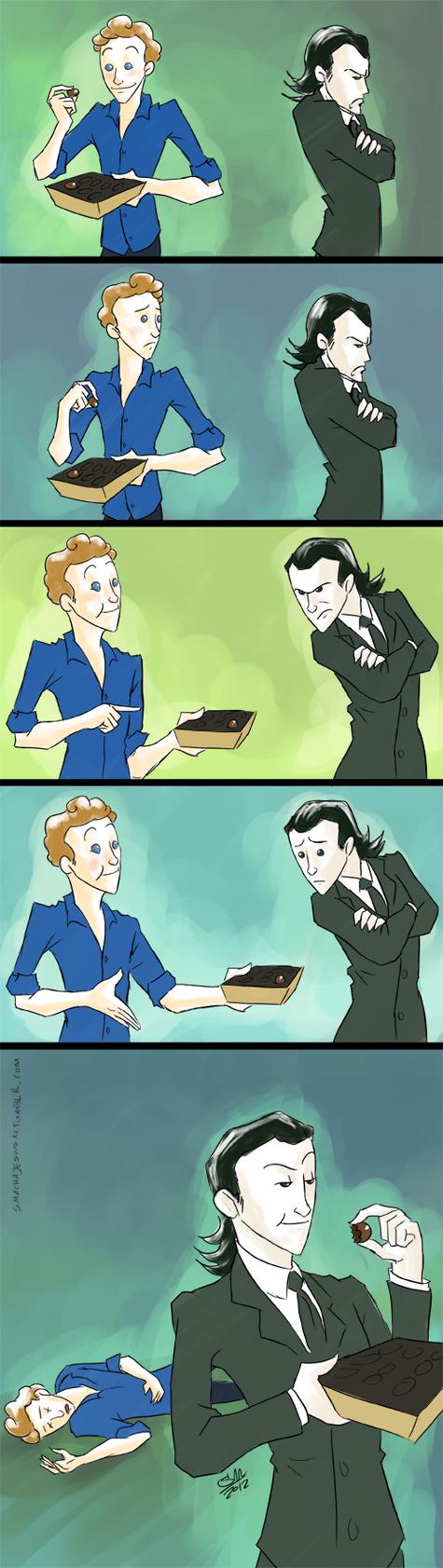 Loki and the Loon Fanart by SMachajewski