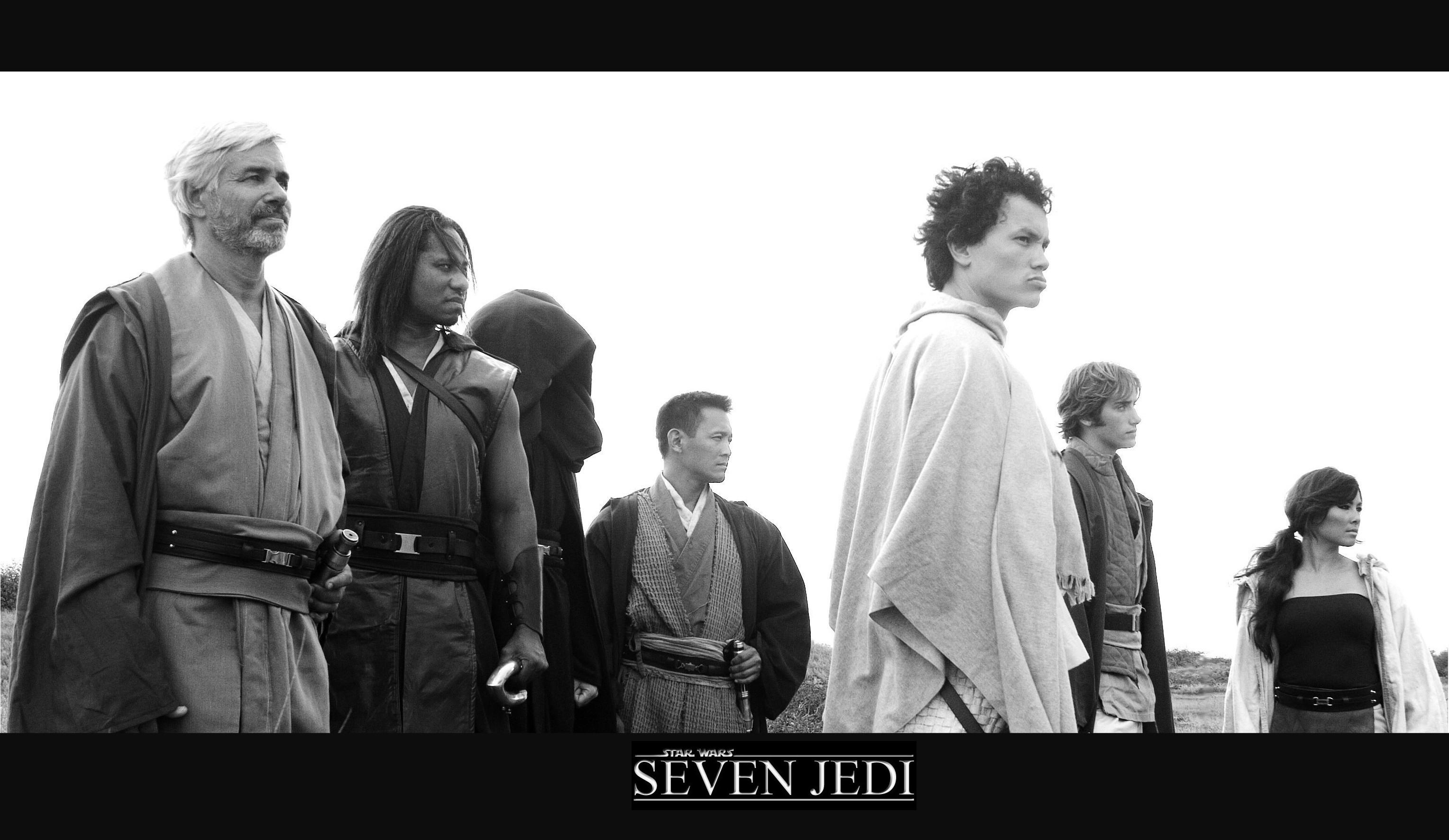 Seven Jedi Poster 1 by hapajedi