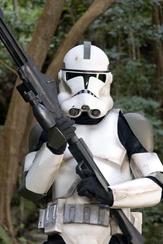 Lone Clone trooper Armor