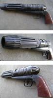 Mandalorian  Heavy Blaster by hapajedi