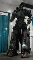 Marauder Bounty Hunter Cyborg by hapajedi