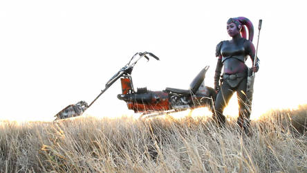 Marauder Bounty Hunter and Swoop Chopper