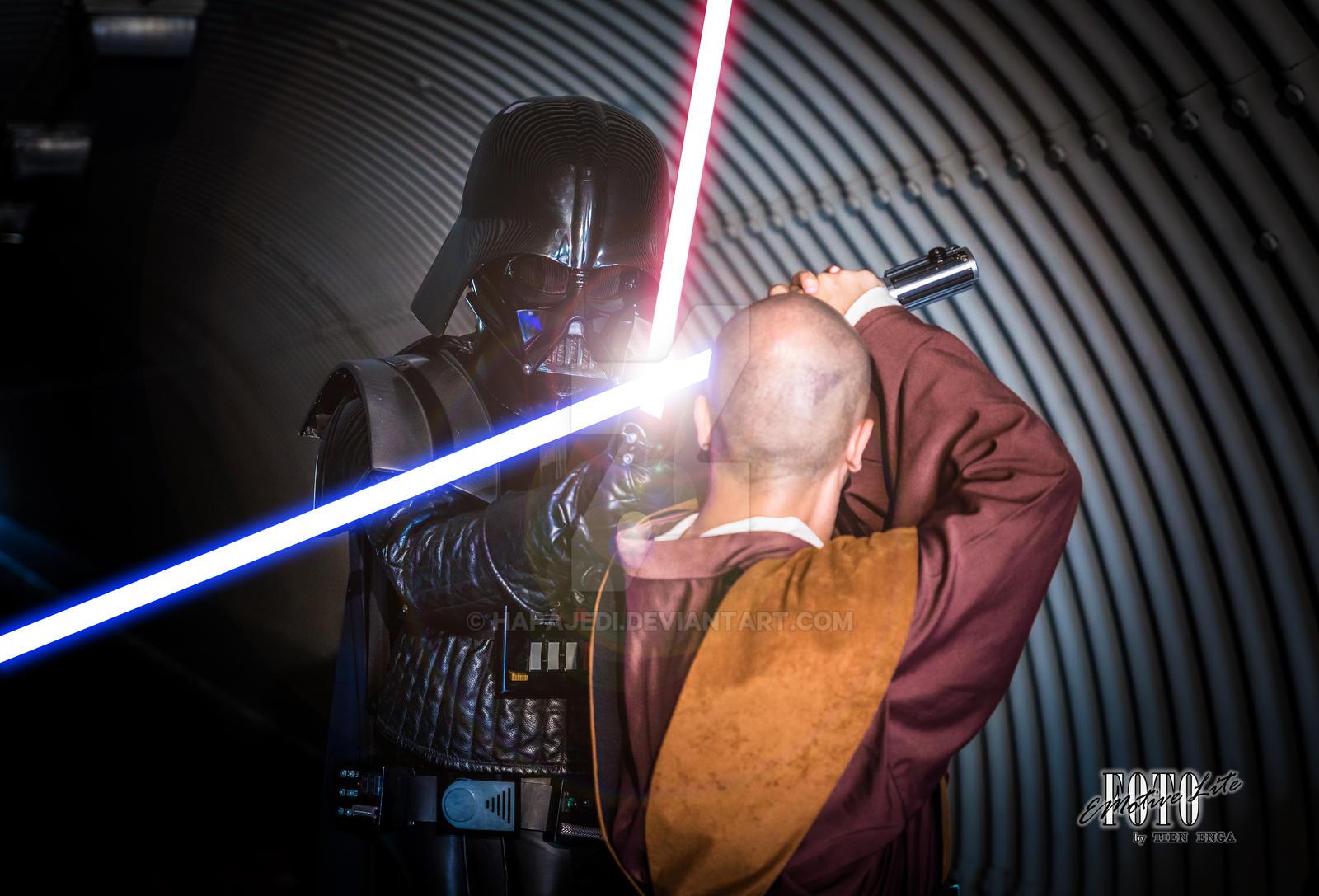 Vader Versus Jedi by hapajedi