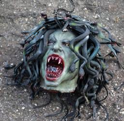 Severed Head Medusa by hapajedi