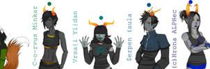 Homestuck: New Trolls Finished by ElleNyx