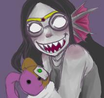 Scary Feferi by ElleNyx