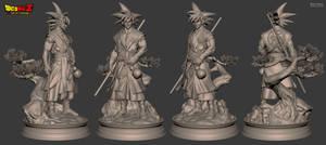 Goku - Sculpt
