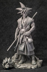 Goku Statue by Bruno-Camara
