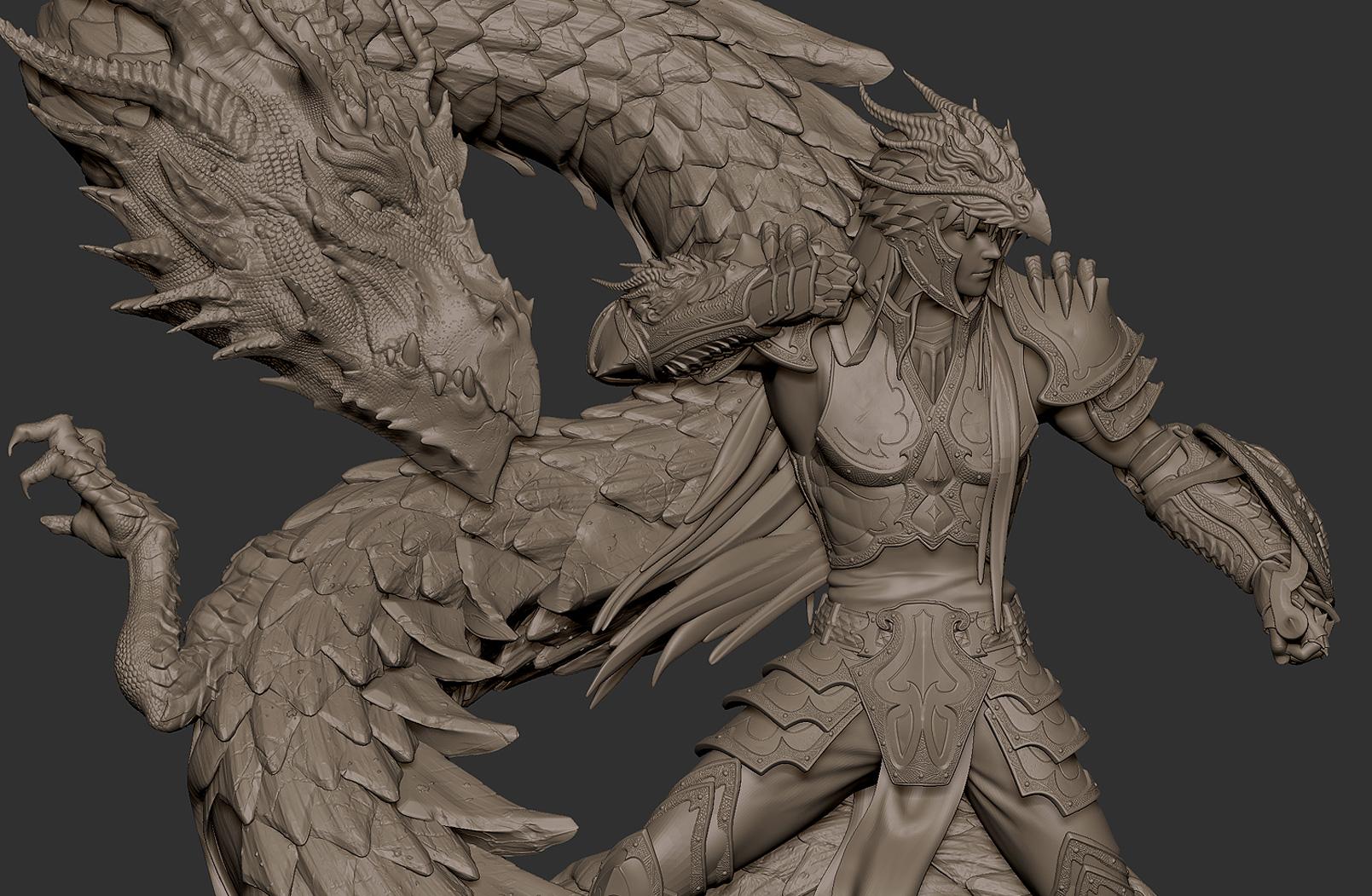 Dragon Shiryu Close by Bruno-Camara