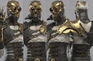 Steampunk Cyborg by Bruno-Camara