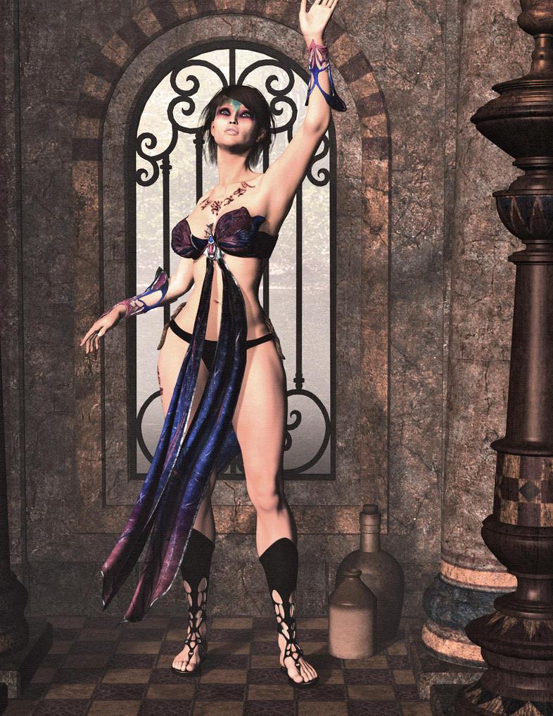 The Priestess by Kitashrak