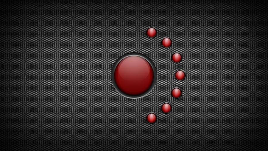 Red Orb Tech Wallpaper by scottastrophik on DeviantArt