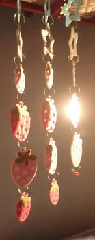 strawberris under stars