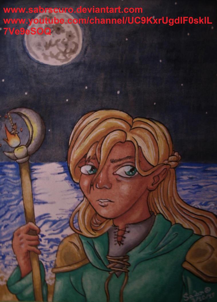 Moon Mage by Sabrscuro