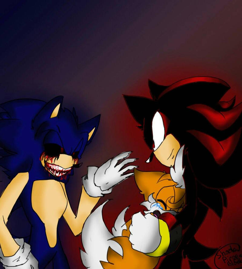 Sonic exe shadow tails by pirog art on deviantart sonic exe shadow tails by pirog art thecheapjerseys Choice Image