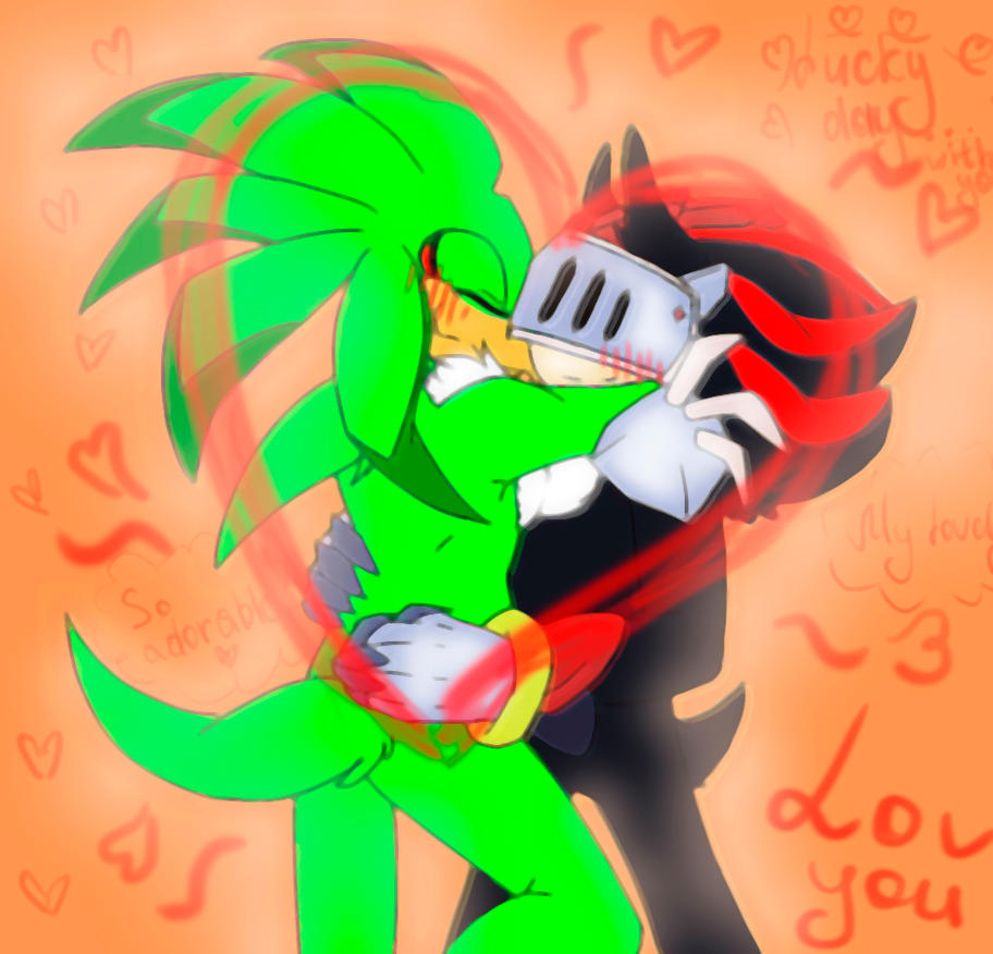 Shadow and Jet(new shipper) by PiRoG-Art