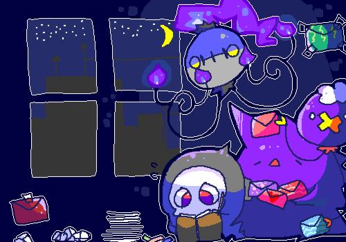 Ghostletter by Schilterus