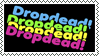 Drop Dead Clothing Stamp by freakenstein1313