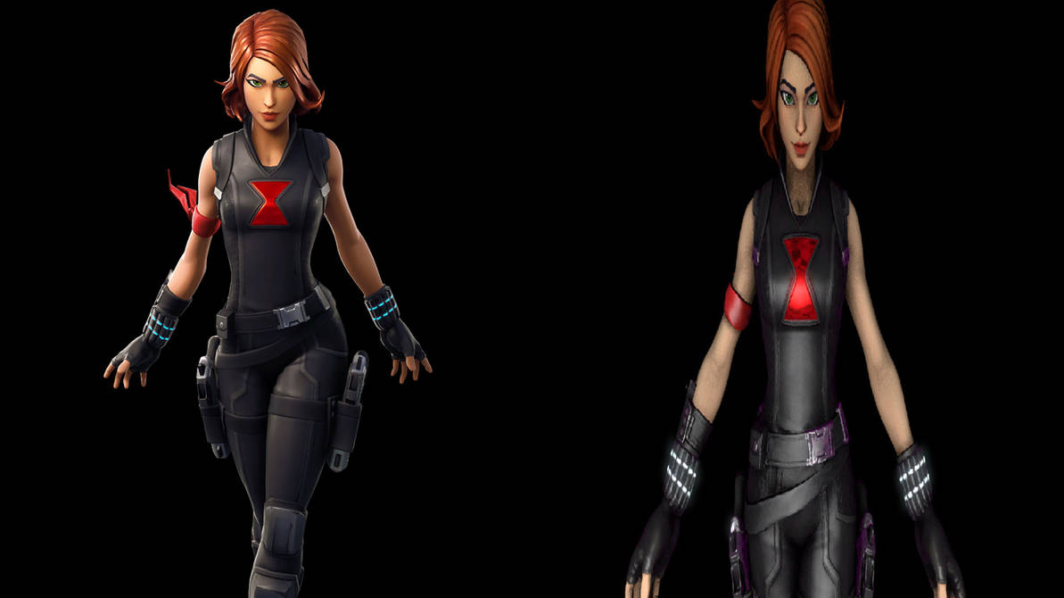 Fortnite Vs Sfm Black Widow By Krsman30 On Deviantart