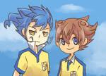Kyousuke and Tenma