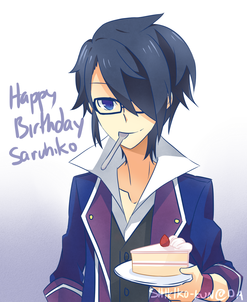 HBD Saruhiko by Sandy-kun
