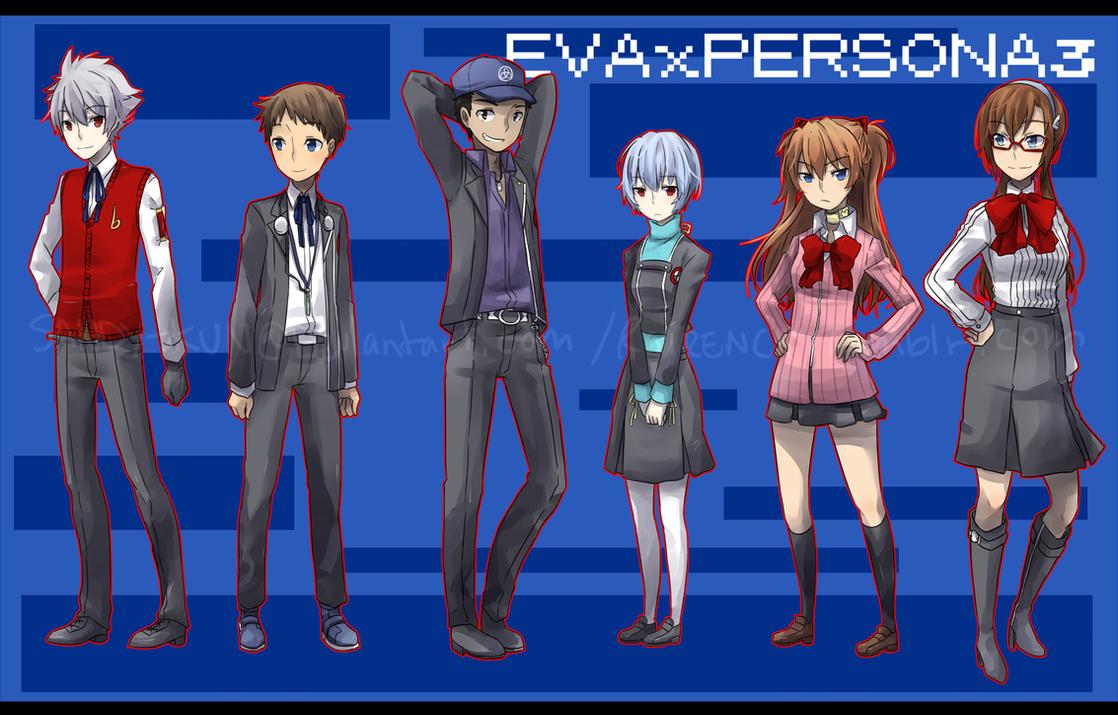 EVAxP3 by Sandy-kun