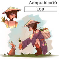 [OPEN] Adopt #10 (SET PRICE) by AlVAdopts