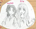 Faolan and Eile by bellaro