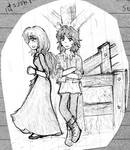 Faine and Darragh by bellaro