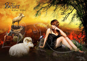 calendar belier 2013 by lartist-retouche