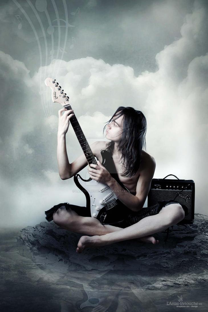 2013 - le Musicien du silence by lartist-retouche