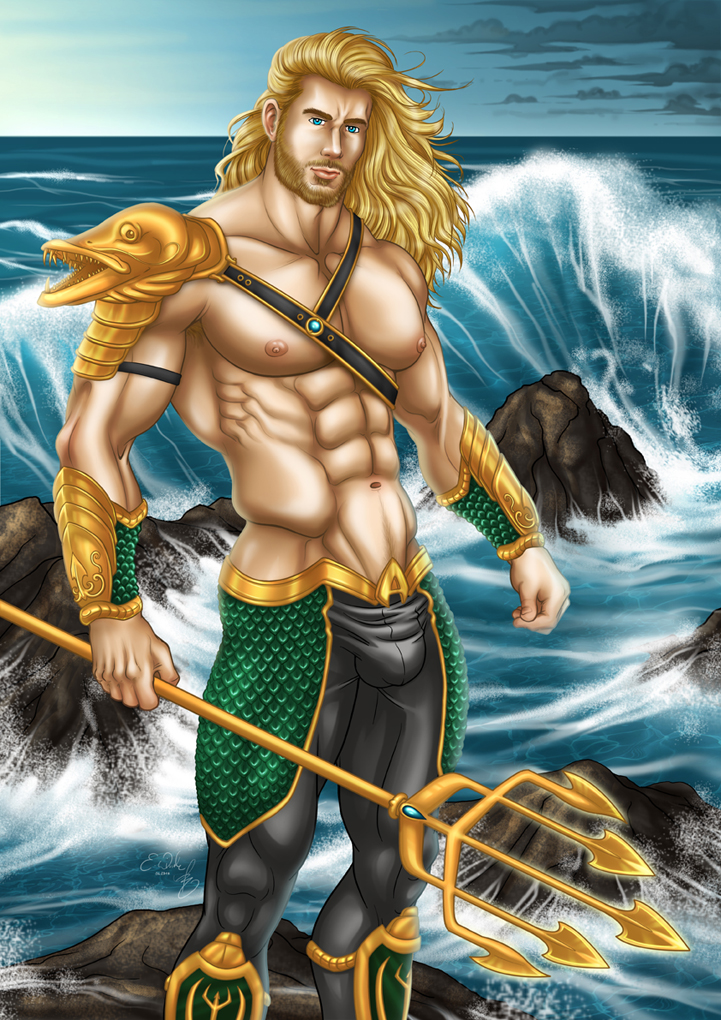 Aquaman by AsmodisArt
