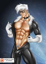 Blackcat male version by AsmodisArt