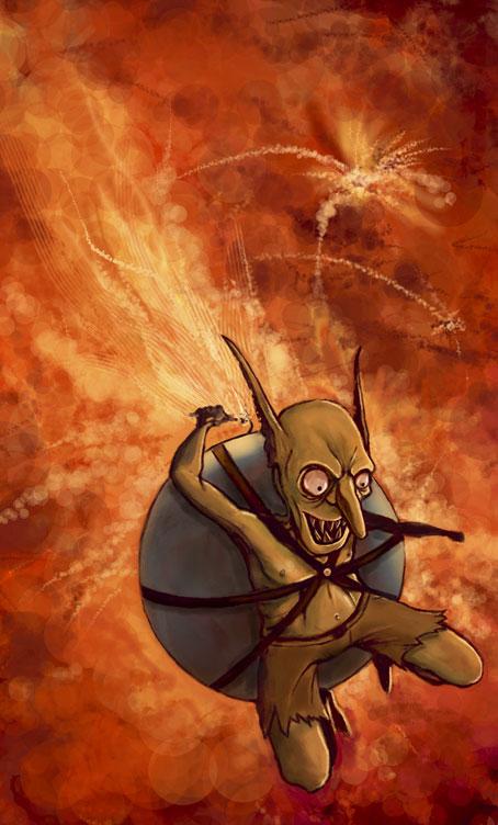 goblin bomb by nraminhos