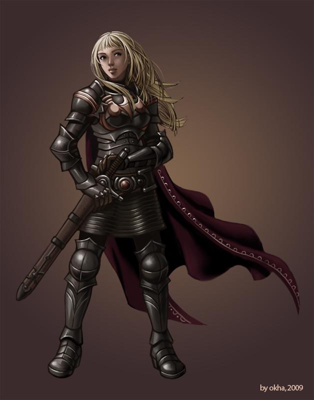 Knight2 by Okha
