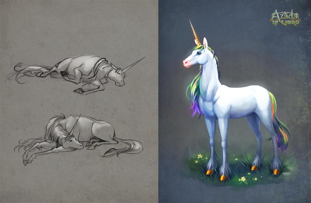 Azada - Unicorn by Okha