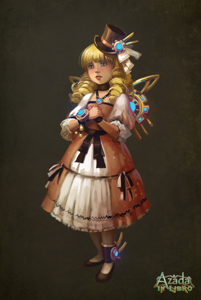 Azada - Little Girl by Okha