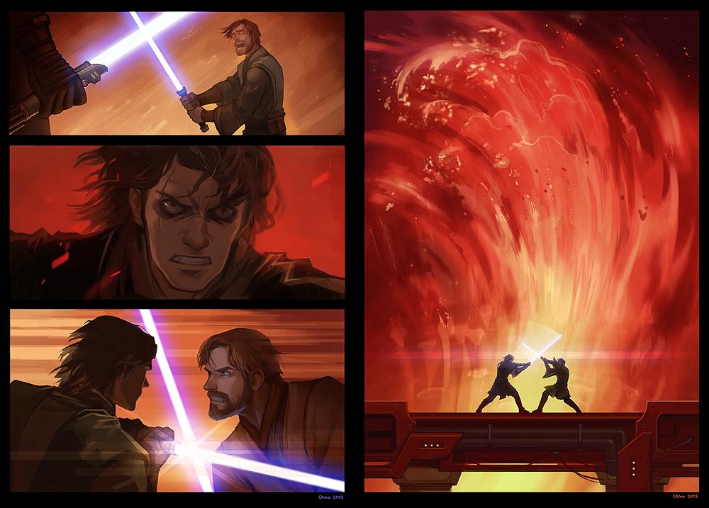 Star Wars - You were the chosen one! by Okha