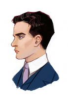 Boardwalk Empire - Charlie 'Lucky' Luciano by Okha