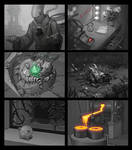 Zoom sketches for hidden object games (part 1/4)