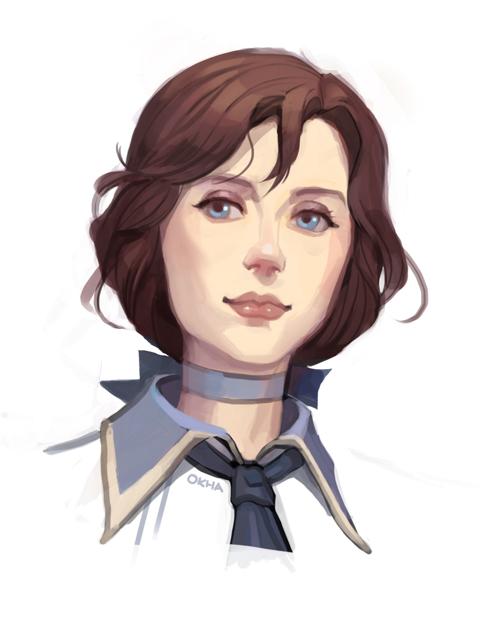 Bioshock Infinite - Elizabeth by Okha