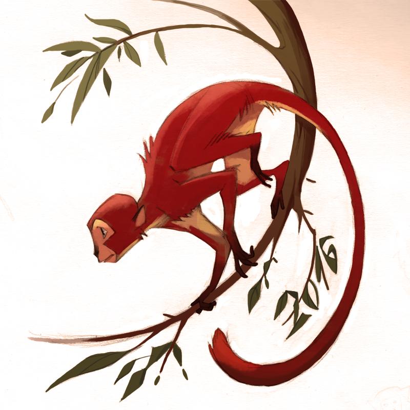 Happy New (monkey) Year! by Okha