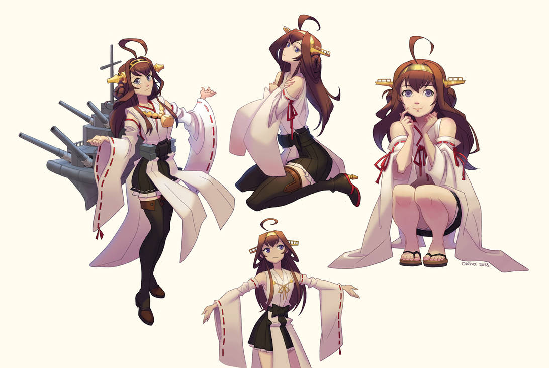 Kantai Collection - Kongou by Okha