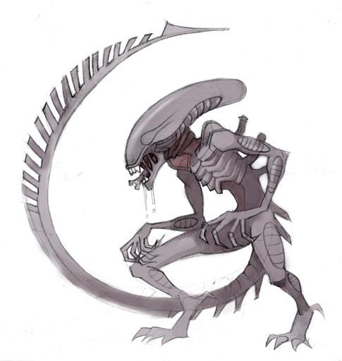 Alien by Okha