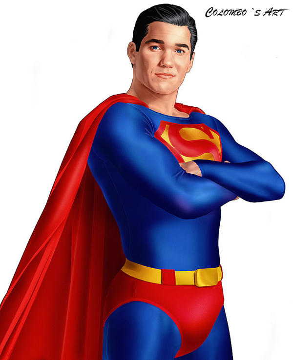 DEAN CAIN AS SUPERMAN by supersebas