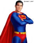 DEAN CAIN AS SUPERMAN