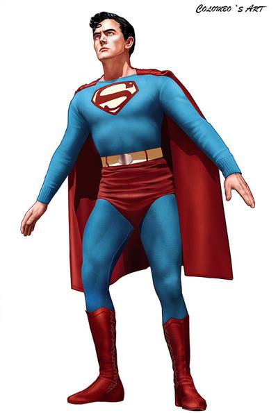 KIRK ALYN AS SUPERMAN by supersebas