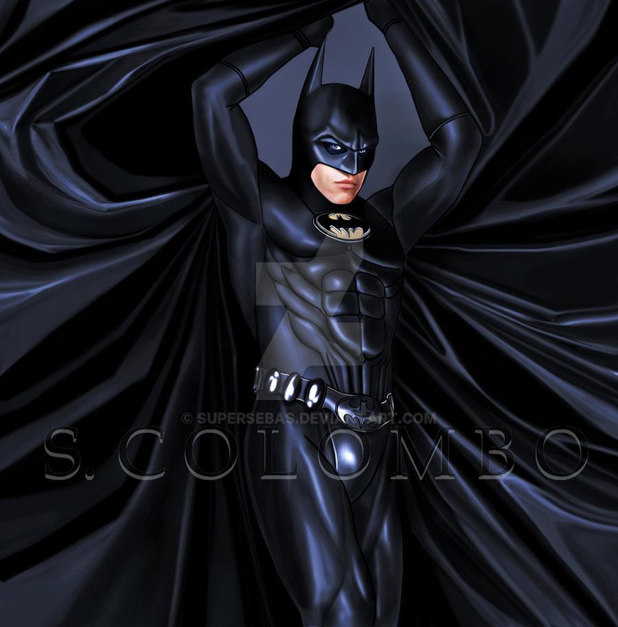 VAL KILMER BATMAN by supersebas