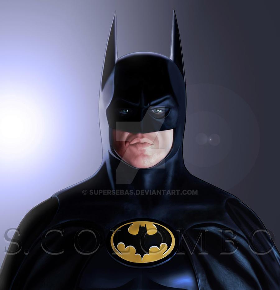 BATMAN KEATON by supersebas