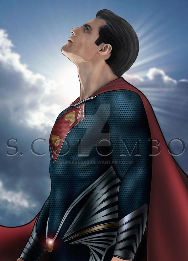 MAN OF STEEL by supersebas